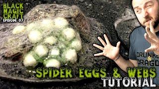Spider Web & Egg Terrain For D&D - Tutorial (Episode 007)