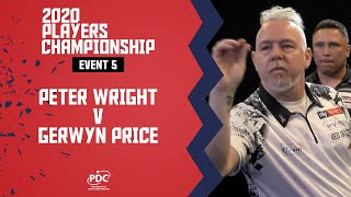 170 TO WIN IT! | Wright v Price | Players Championship 5 Final