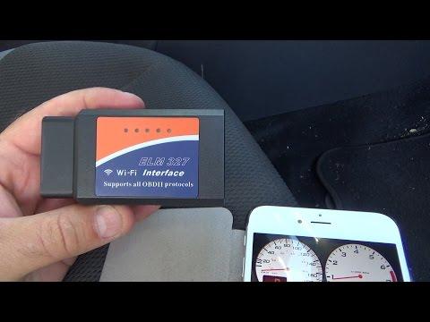 ELM327 ODB2 WiFi Adapter off eBay