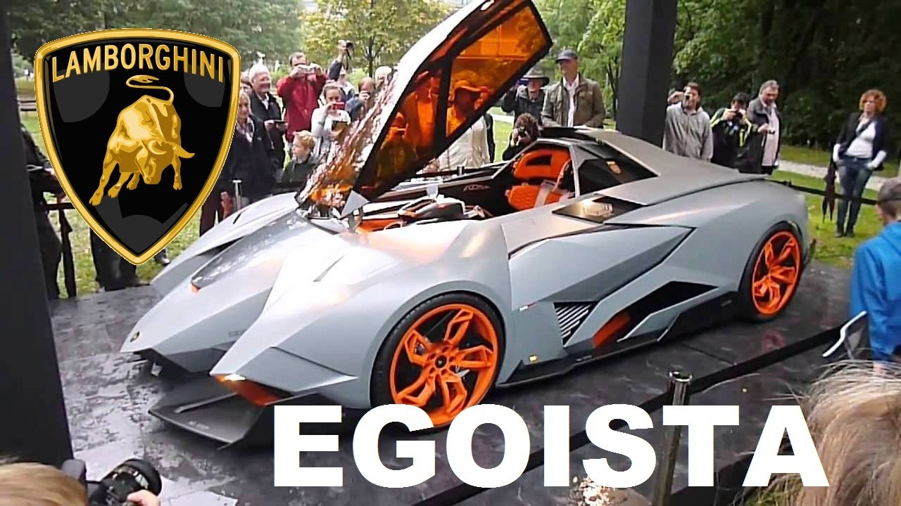 Lamborghini Egoista Cockpit Head Up Display Youtube