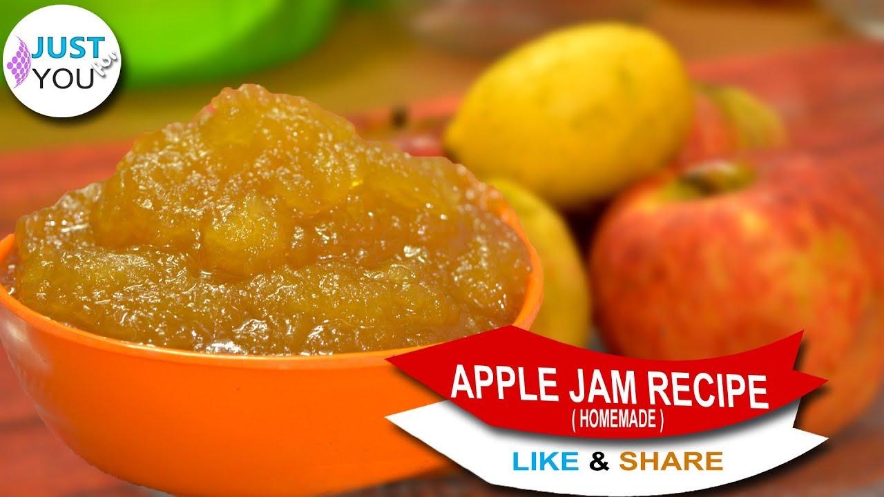 How to cook apple jam Simple recipe 8