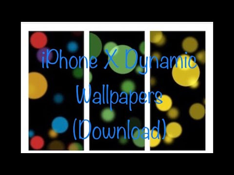 Iphone X New Dynamic Wallpaper Stills W Download Link Youtube