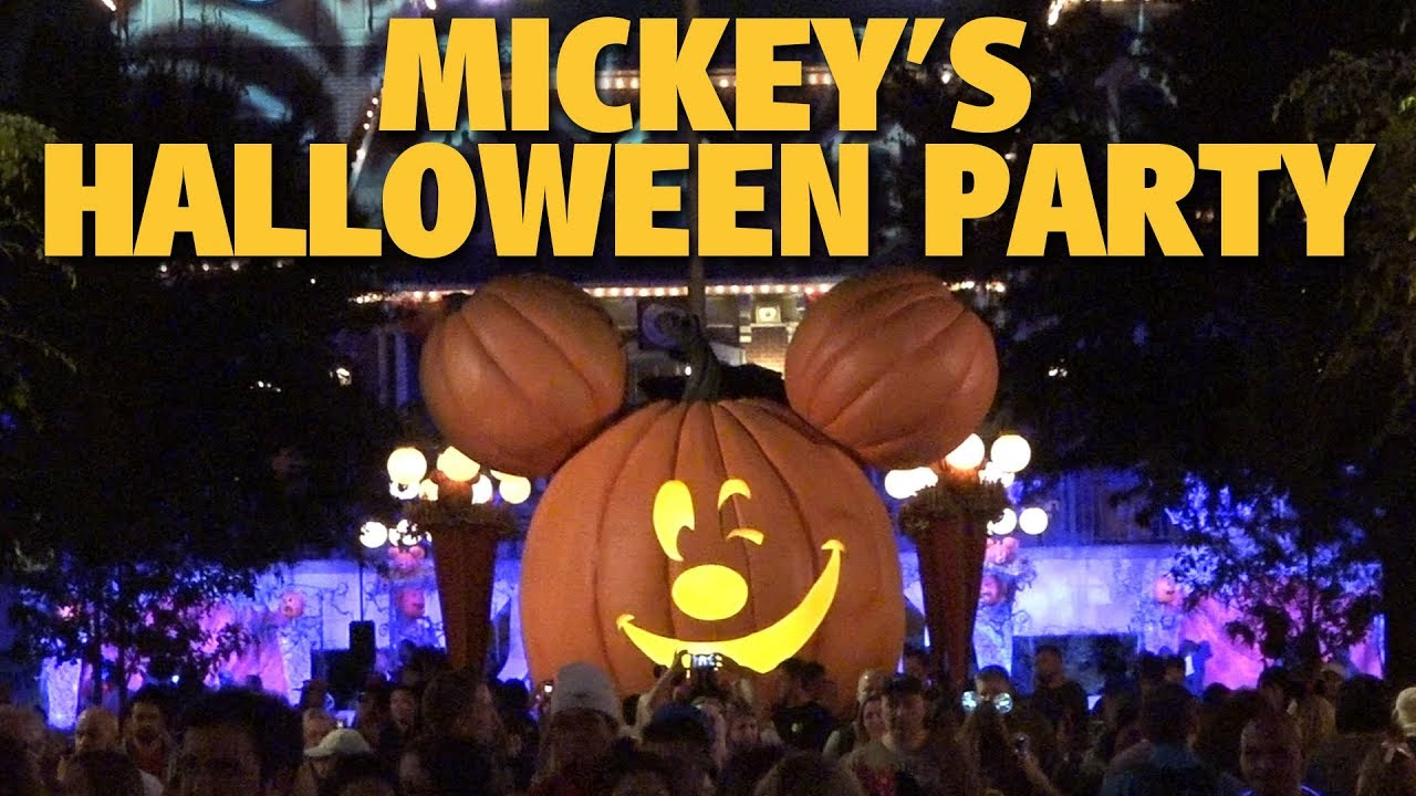 Mickey's Halloween Party Overview 2017 | Disneyland - YouTube