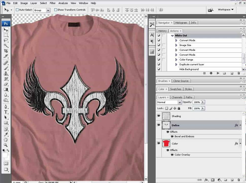 PhotoShop TShirt Tutorial How To Create And Add Your Own Textures - Car show t shirt design ideas