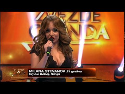 Milana Stevanov - Sve sam stekla sama (live) - ZG 2014/15 - 06.12.2014. EM 12.
