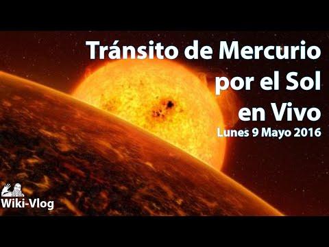 Tránsito De Mercurio Por El Sol, En Vivo (2016)