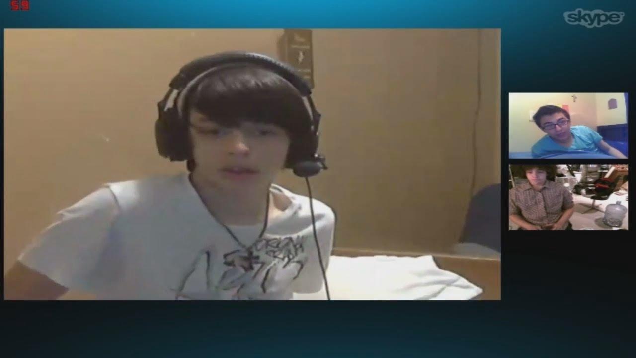 Weird Skype Call