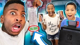 I TOOK 2 FANS ON A SHOPPING SPREE! THEY RAN UP A CHECK😱