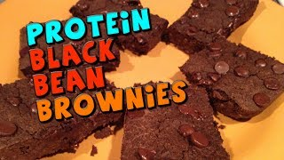 Protein Black Bean Brownies Recipe (high Fiber/protein)