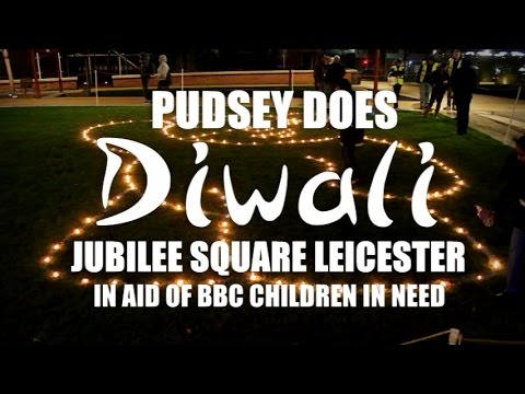 Pudsey Does Diwali   CIN at BBC Radio Leicester