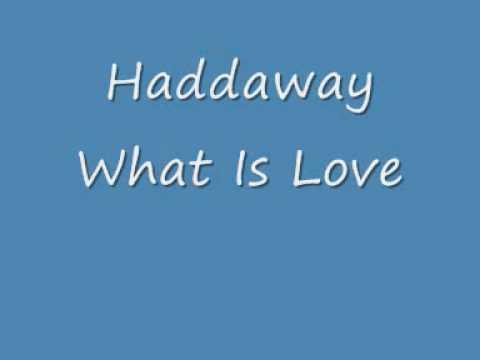 Haddaway What Is Love 90s Dance