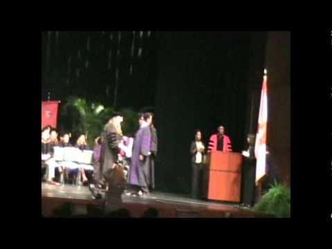 Nathalie Nguyen's Graduation. School of Law, Barry University, Orlando, Florida. (Video)