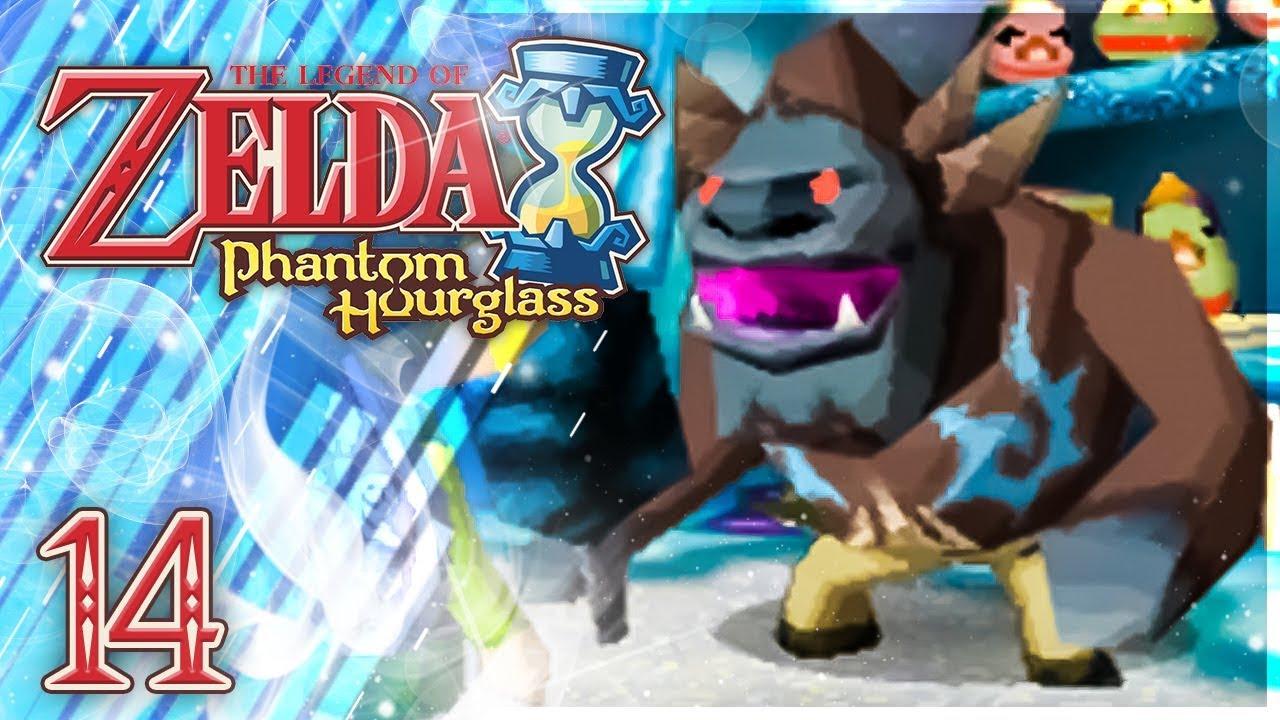 Zelda Phantom Hourglass Le Monstre Des Glaces 14 Youtube