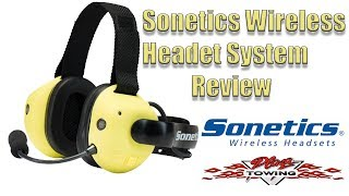 Sonetics Wireless Headset System Review