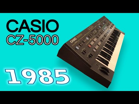 CASIO CZ-5000 Digital Synthesizer 1985 | HD DEMO