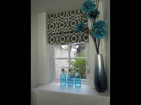 A Simple Roman Blind By Debbie Shore Youtube