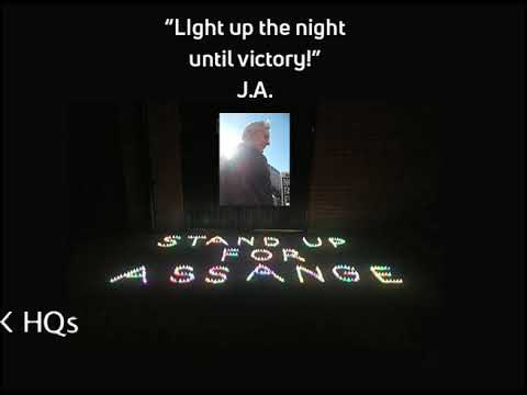 Light Up the Night - Promo4 Candles4Assange event listings / map link