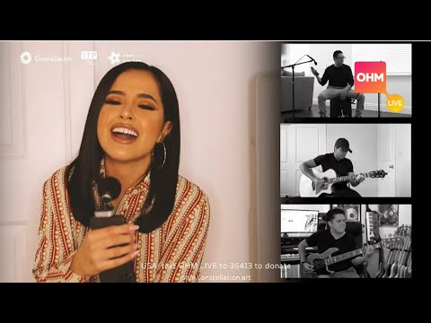 Becky G performs Dollar, Mayores & Sin Pijama at OHM Live