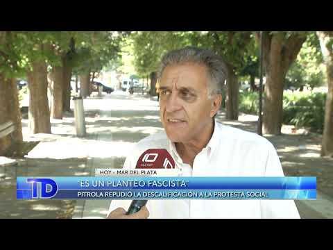 Pitrola repudió la descalificación a la protesta social