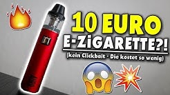 😱 10 EURO 50 WATT E-ZIGARETTE?! KANN DIE WAS? China Böller? 💥   Auro Alpha #VapeDay