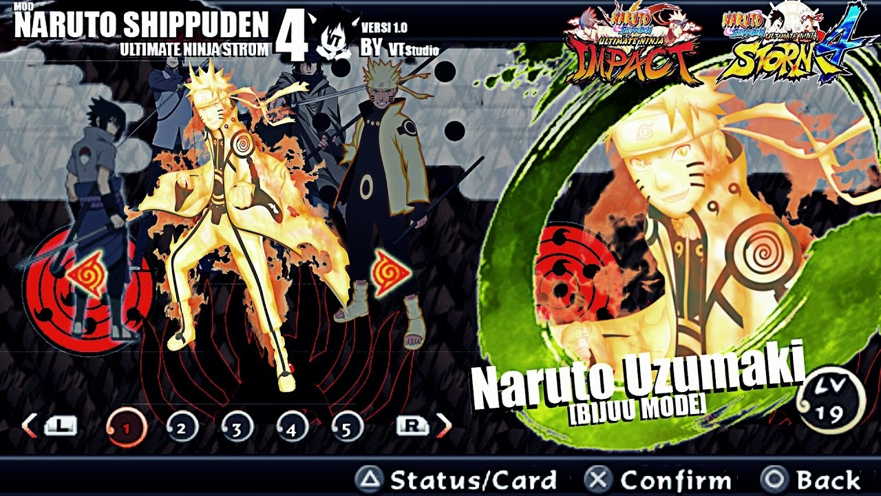 download game naruto shippuden ultimate ninja storm 4 ppsspp android
