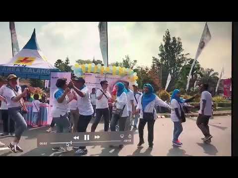 Ceria Car Free day PLN Area Malang