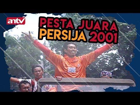 Memory Pesta juara Persija Jakarta 2001