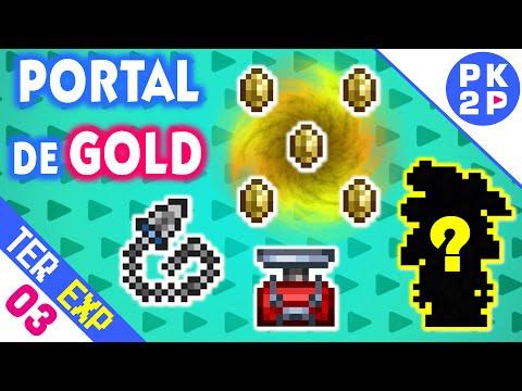 Coin Portal, Chain Knife, Detonator e Surpresa! • Terraria 1.3 Expert #03