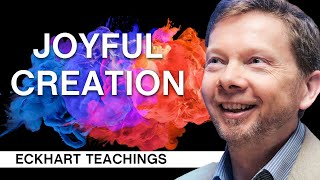 The Key to Conscious Creativity   Eckhart Tolle Teachings