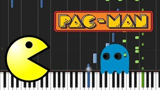 Pac-man - Main Theme Song [Synthesia Tutorial]