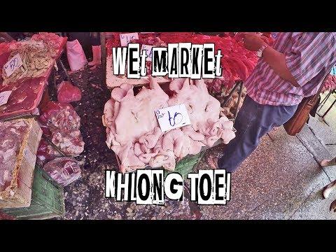 Inside the Khlong Toei WET MARKET 🇹🇭