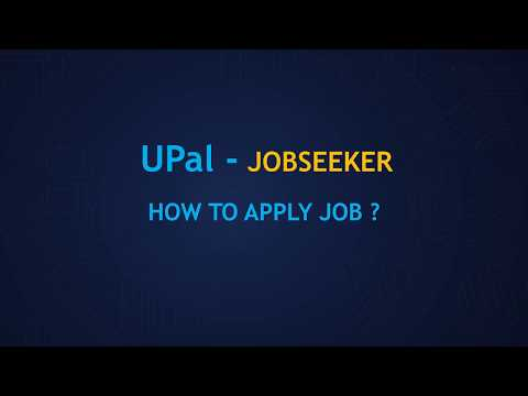 JobSeeker - How to apply job