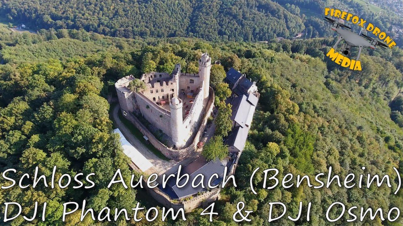 Dji Phantom 3 Drone >> Schloss Auerbach (Bensheim) - DJI Phantom 4 & Osmo - YouTube