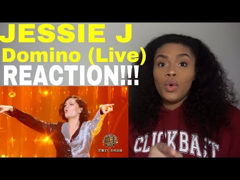 Jessie J - Domino (Live at Singer) // REACTION!!!