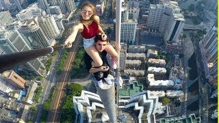 15 Daredevils on Sky Walker Video That Will Scare You To Death