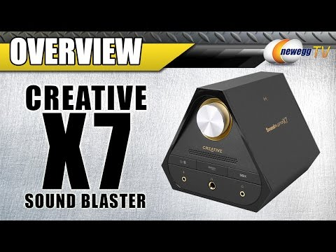 Creative X7 5.1 Channels 24-bit Sound Blaster Overview - Newegg TV