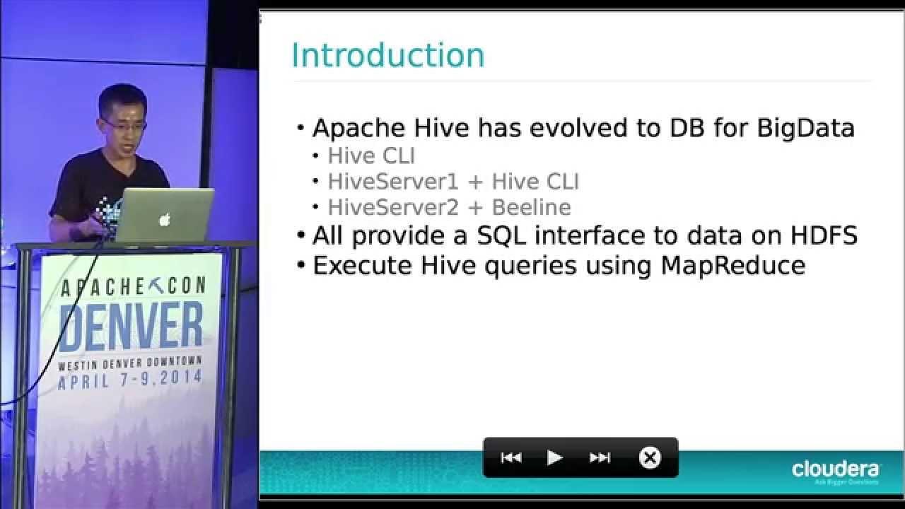 Introducing Hive New Command Line Tool Beeline - Xuefu Zhang