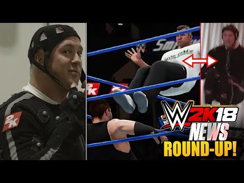 WWE 2K18 News: EXCLUSIVE Shane McMahon Does His Own Motion Capture!, FAKE DLC TWEET! & More!