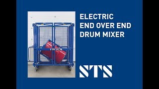 STS - Electric Drum Mixer for Tumbling Drums & Barrels (DME01) Mix Oil Drums, Industrial Drum Mixer