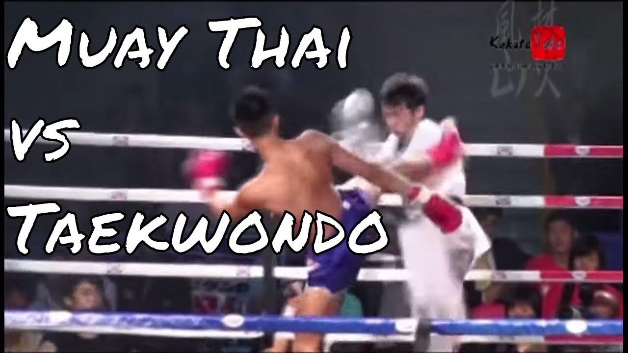 Download TKD Black Belt vs Muay Thai Fighter - 2009 HK Match