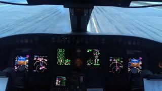Глазами пилота. Взлёт ап Нижний Новгород CRJ-200