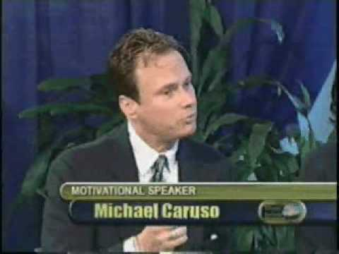 Michael Angelo Caruso interviewed on Barbados TV in 2000