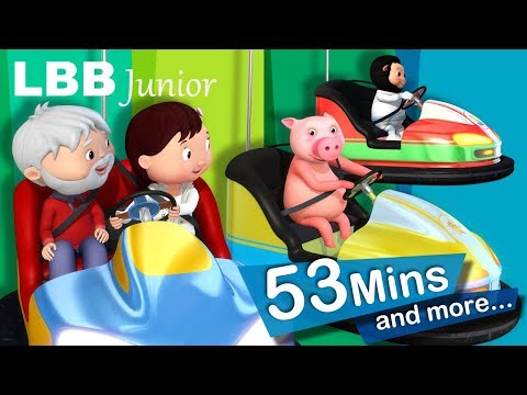 Bumper Cars Song | Plus More Original Kids Songs | From LBB Junior!