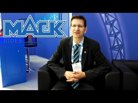 MACK Rides Dennis Gordt ICON Interview @ IAAPA European Attractions Show 2018