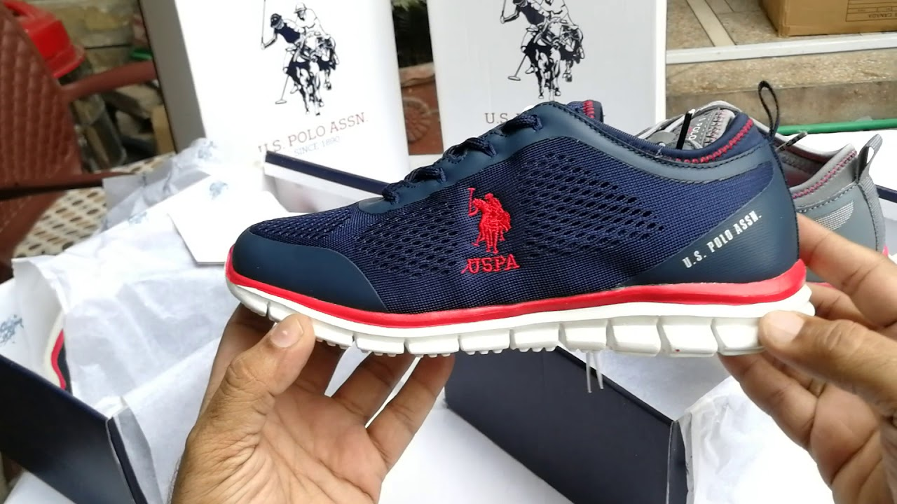 U.S. POLO ASSN. Medicated Shoe for