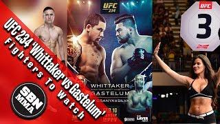 UFC 234 'Whittaker Vs. Gastelum' Top Three Fighters To Watch