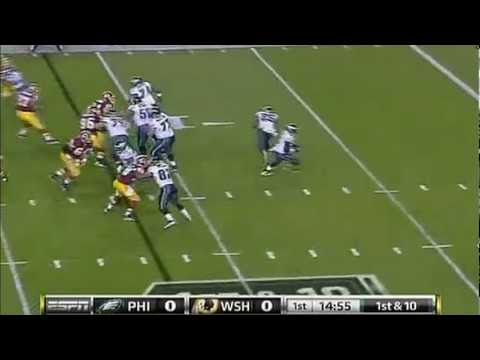 Michael Vick - 88 Yards Passing Touch Down On Monday Night Football