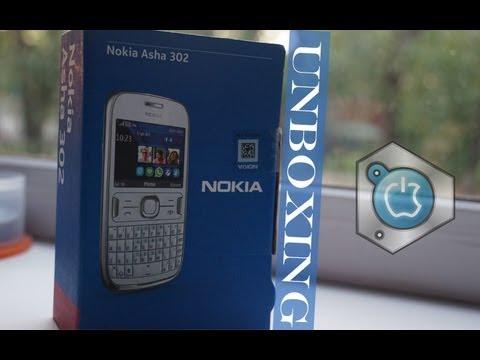Unboxing Nokia Asha 302