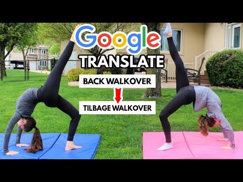 Google Translate Gymnastics Challenge 3