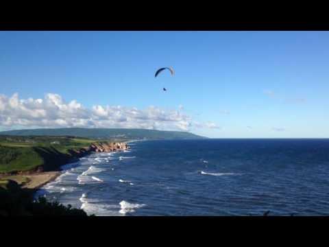 Broad Cove Paraflying